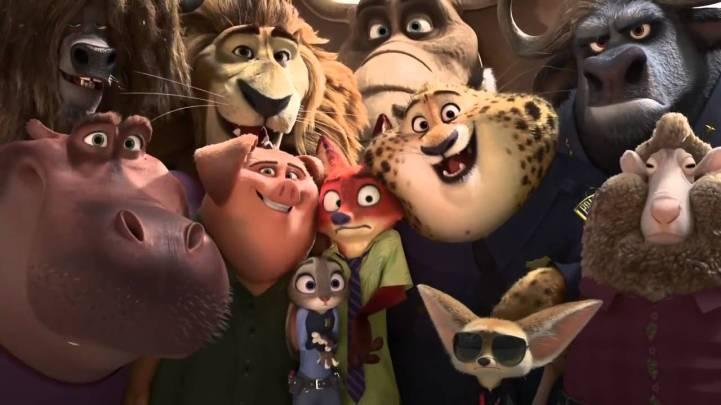 disney's zootopia cast of animals