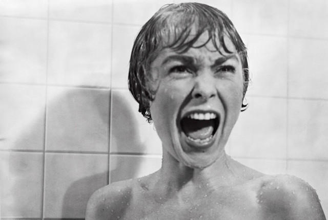 shower scene scream from psycho