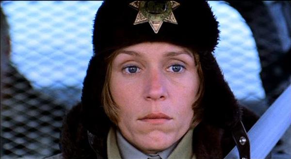 Fargo officer in car