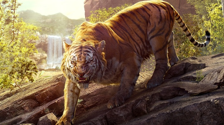 Tiger the jungle book