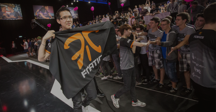 Yellowstar with fnatic flag