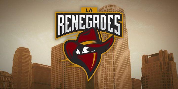 Renegades logo with skyline