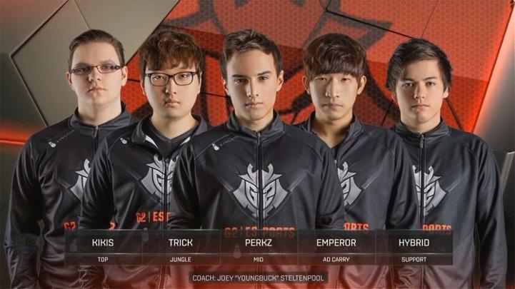 G2 League of Legends players
