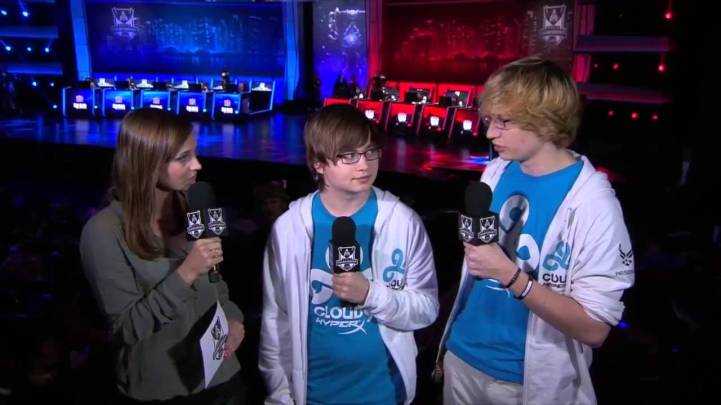 Cloud 9 Sneaky and Meteos