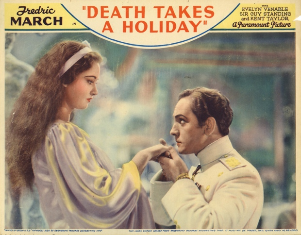 Death Takes a Holiday movie poster