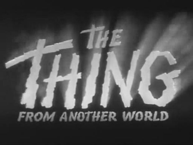The thing from another world opening