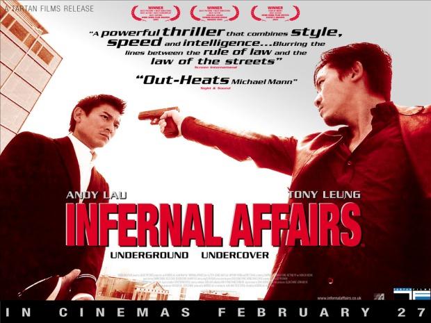 Infernal Affairs hong kong thriller poster