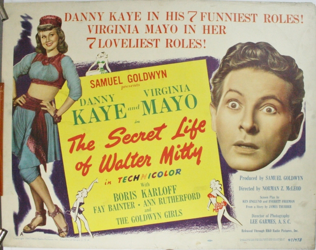 the secret life of walter mitty original movie poster